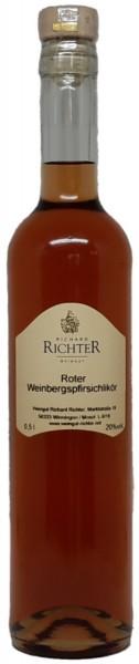 Roter Weinbergspfirsichlikör
